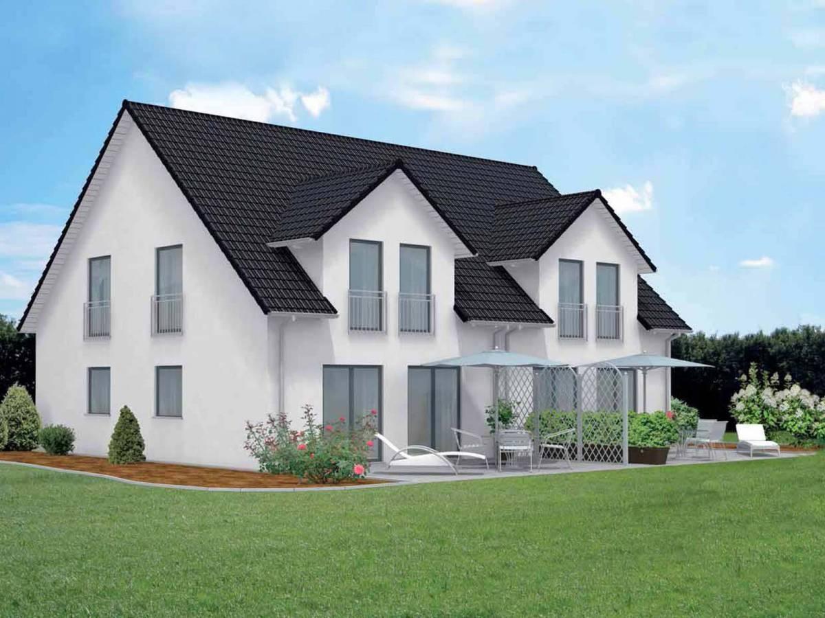 Doppelhaus valburg gmbh for Moderne bauweise